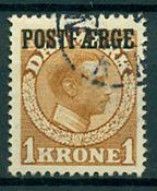 Danmark - Postfærge - 1919