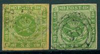 Danmark - 1857-58