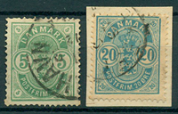 Danmark - 1882