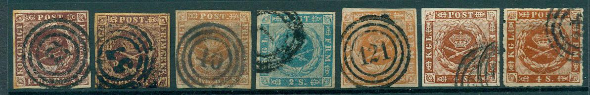 Danmark - 1852-63