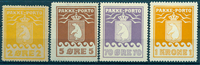 Grønland - Pakkeporto - 1915-36