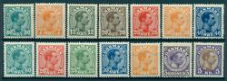 Danmark - 1915-27