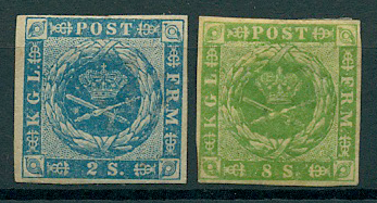 Danmark - 1855-57