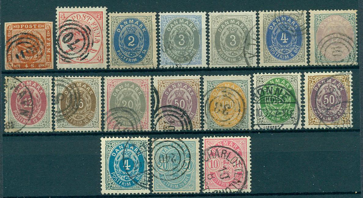 Danmark - 1854-1903