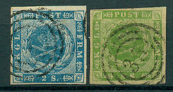 Danmark - 1854-55