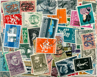 Netherlands - 222 diff. cancelled stamps