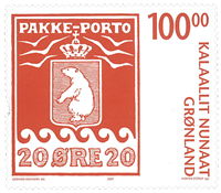Greenland - Parcel stamp - Mint stamp