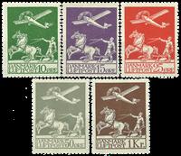 Danmark - Gammel luftpost komplet - Postfrisk