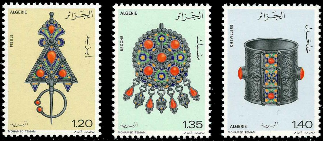 Algeriet - YT 693-95 - Postfrisk