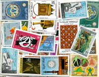 Tunesien/Marokko/Algeriet - Postfrisk dubletlot