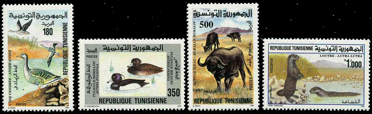 Tunesien -  YT  1240-43 - Postfrisk