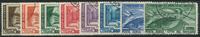 Vatikanet 1938-49 - AFA nr. 92-97 + 186-87