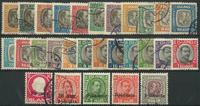 Island 1902-36 - Tjenestemærker