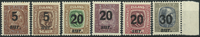 Island 1921-22 - Postfrisk