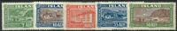 Island 1925 - AFA nr. 114-18 - Ubrugt