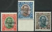 Island 1931 - AFA nr. 147-49 - Postfrisk