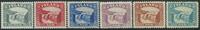 Island 1931-32 - AFA nr. 150-55 - Ubrugt