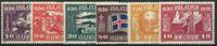 Island 1930 - 4 postfriske + 2 ubrugte frimærker