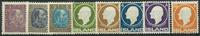 Island 1902-11 - 8 postfriske frimærker
