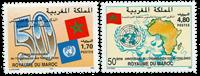 Marocco - YT 1182-83 - Mint