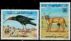 Marokko - YT 736-37 - Postfrisk