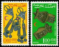 Marokko - YT 523-24 - Postfrisk