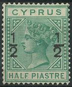 Cyprus 1882 - AFA no. 25  - unused