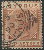 Cyprus 1886 - AFA no. 23II