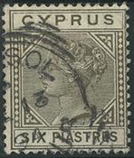 Cyprus 1883 - AFA no. 22II