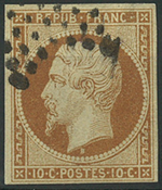 France 1852 - AFA no. 8 - cancelled
