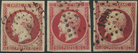 France 1853 - AFA no. 16 - cancelled