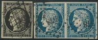 France 1849-50 - AFA no. 3-4 - cancelled