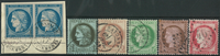 France 1870-75 - cancelled