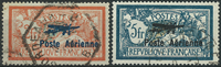 France 1927 - AFA no. 217-18 - cancelled