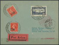France 1930 - AFA no. 204 + 206 + 246 - Letters