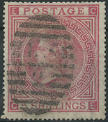 Great Britain 1867 - AFA no. 35 - cancelled