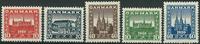 Denmark 1920 - AFA no. 112-16 - mint
