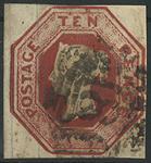 England 1847-54 - AFA nr. 6 - Stemplet