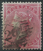 Great Britain 1855 - AFA no. 12 - cancelled