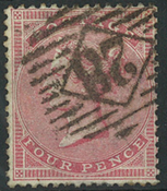 Great Britain 1855 - AFA no. 12a - cancelled