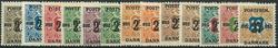 Danmark 1918 - AFA nr. 85-97 - Postfrisk