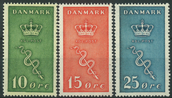 Danmark 1929 - AFA nr. 178-80 - Postfrisk