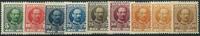 Danmark 1907-12 - AFA nr. 54-59 + 63-63a - Postfrisk