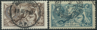 Great Britain 1912-13 - AFA 142-44 - Cancelled