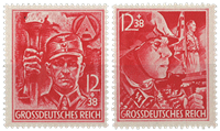 German Empire 1945 - SA and SS - Mint