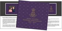 Faroe Islands - Royal Golden Wedding anniversary - Presentation pack