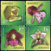 Romania - Orchids - Mint set 4v
