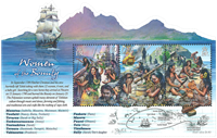 Pitcairn Islands - Women of the Bounty ship - Mint souvenir sheet
