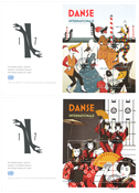 United Nations Geneva - Dance - First Day Cover with 2 s/s