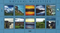 Marshall Øerne - Fantastiske naturbilleder - Postfrisk sæt 10v